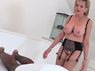 Cheating British Milf Gill Ellis Showcases Her Big Knockers