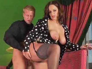 Young Man And The MILF Get It On Hard