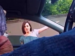 Dickflash Pretty Milf Smiles And Gives Directions Porn F1
